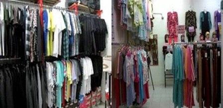 Gambar membuka usaha baju dan toko pakaian dengan banyak model