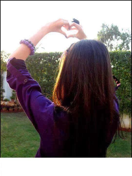 Girl hiding face profile pics