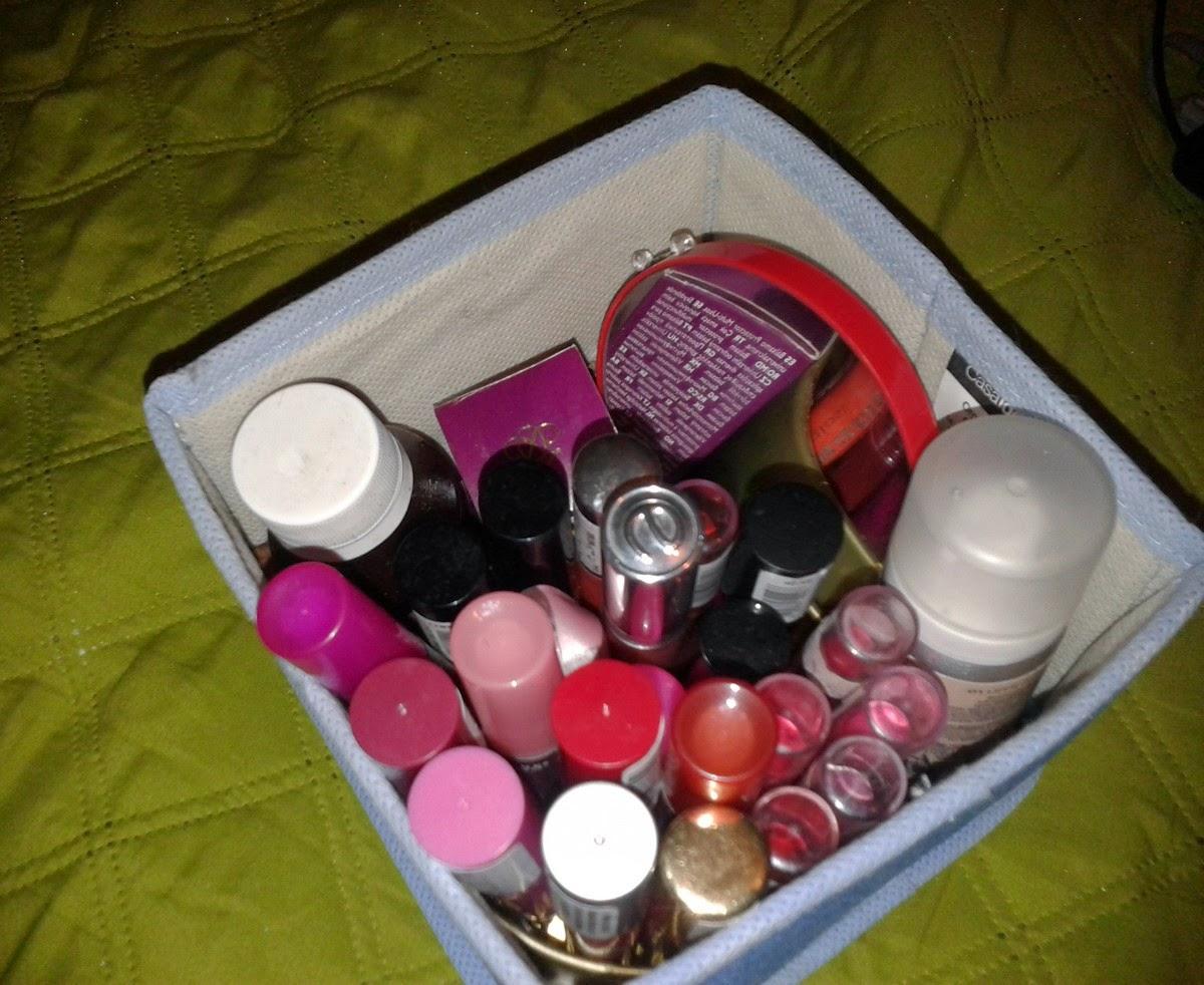 La Obsesa: Cómo organizo mi maquillaje y esmaltes de uñas