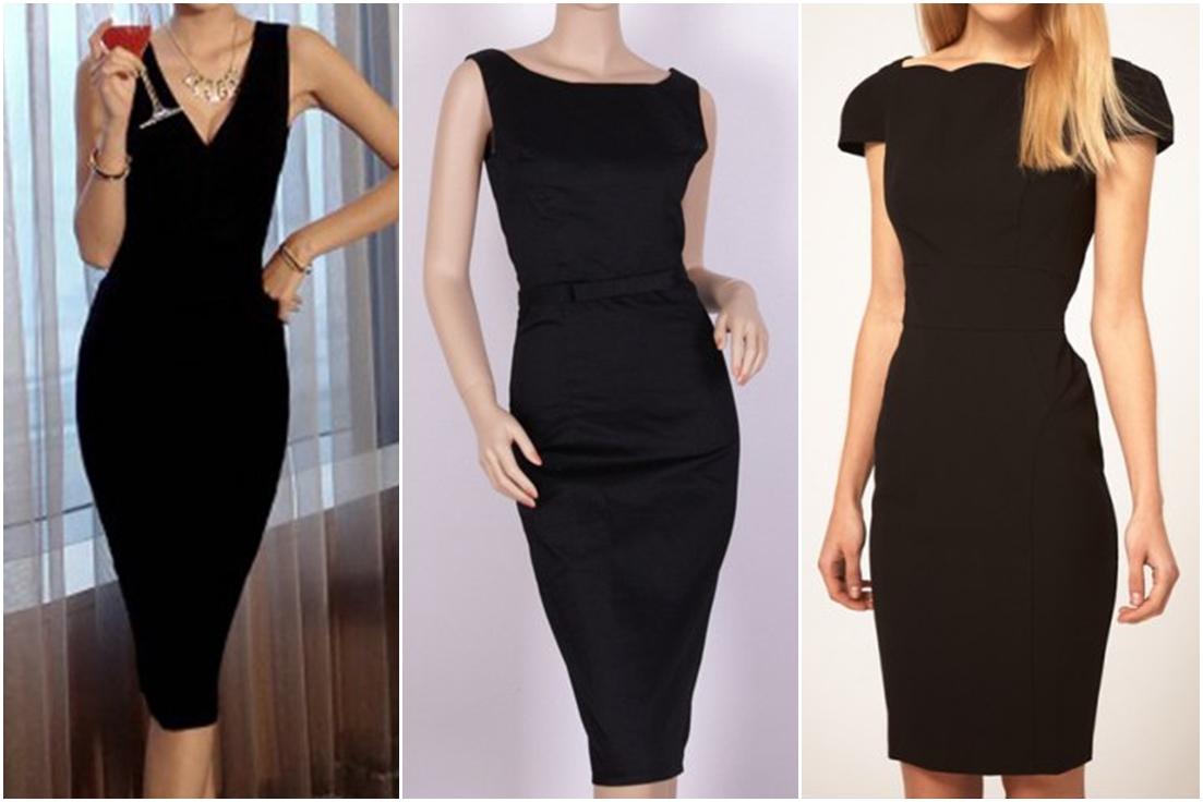 Rosegal - klasyczna mała czarna sukienka