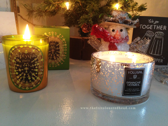 diptyque holiday 2013 pine bark candle voluspa branche vermeil