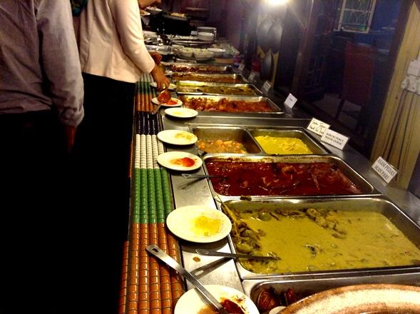 buffet ramadhan terbaik 2013, restoran rebung