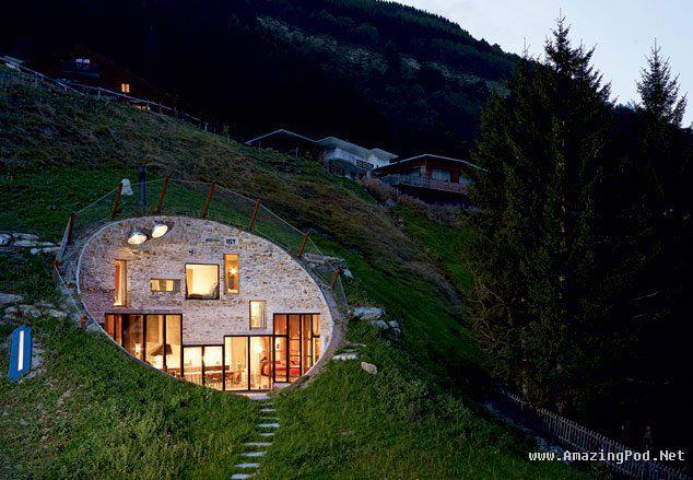 Most Beautiful Photos: Amazing House in Switzerland