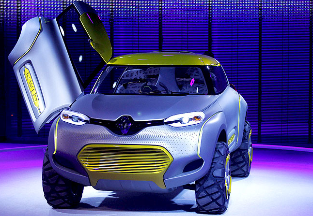 new car launches at auto expo 2014Renault KWID Concept Car Launches In Auto Expo 2014 At New Delhi