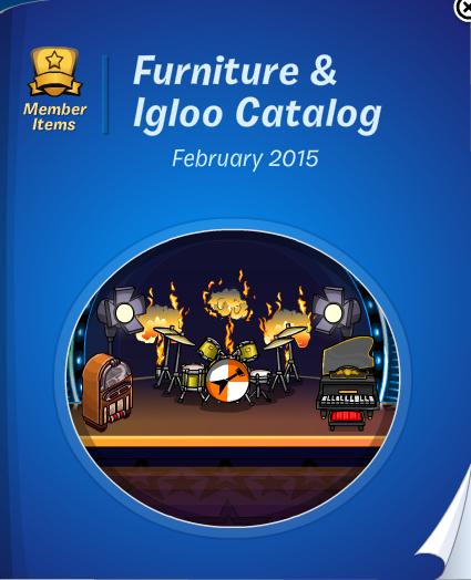 Club Penguin Furniture & Igloo Catalog Cheats February 2015