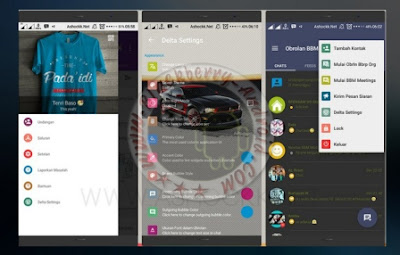 BBM Delta Themes Mod Premium Full Features New Versi 2.11.0.16 Clone