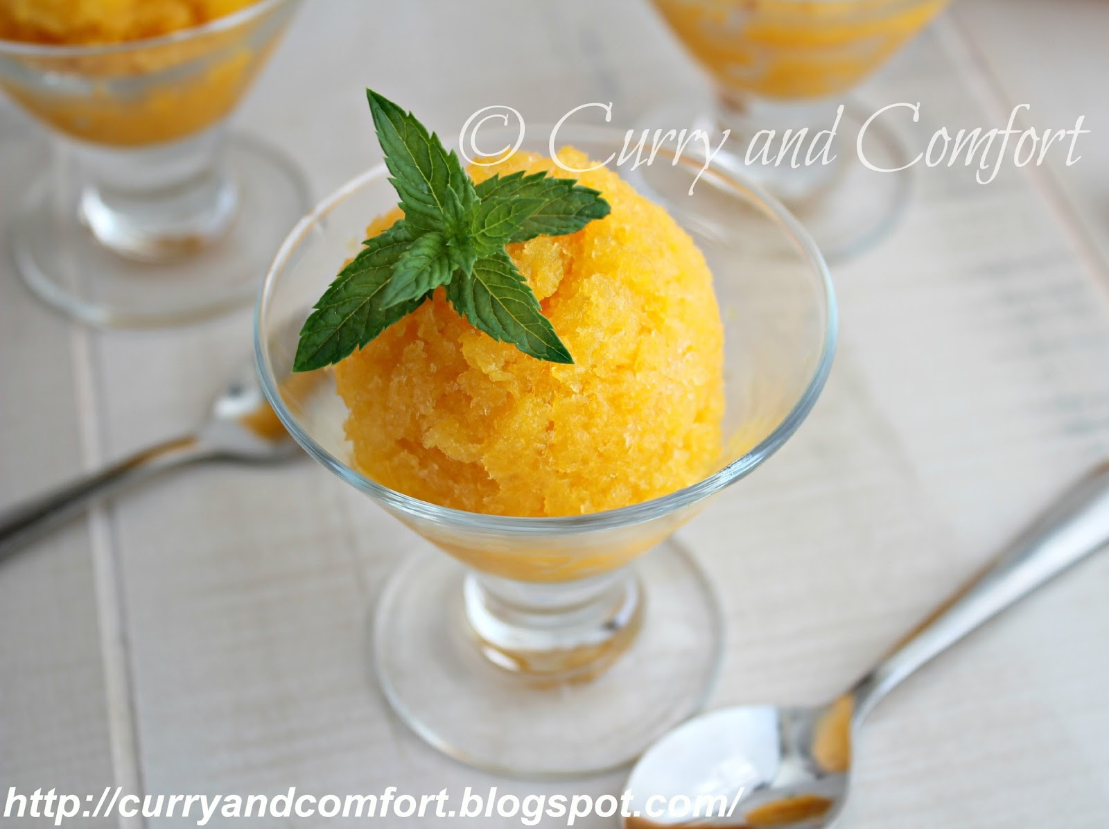 Mango Pineapple Granita ~ TacoBellCantinaSteak