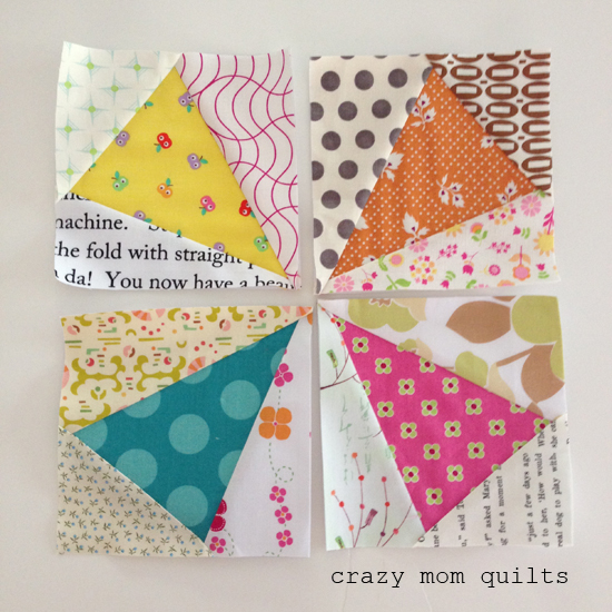 crazy mom quilts: paper piecing tips from a frugal girl : quilt piecing tips - Adamdwight.com