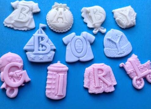 Baby Shower, Bautizos, Cobertura de Pasteles