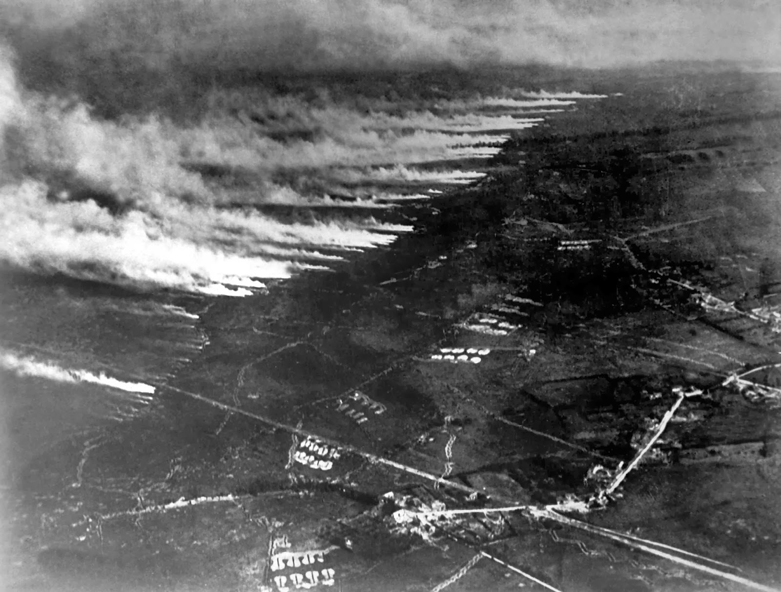 poison gas wwi The most serious form of gas-poisoning and the only one which will be  the gas used has never  the object of which is to dilute the irritant poison and.