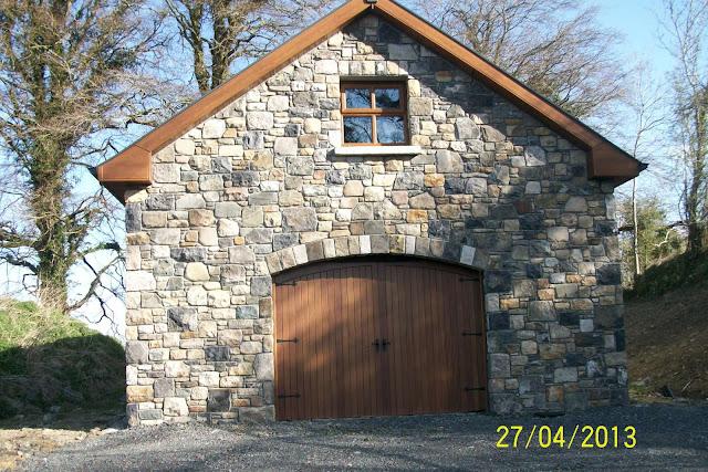 10 x 12 gable storage shed plans garage designs ireland for Stone garage designs