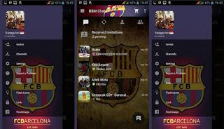 BBM Mod Barcelona Theme Versi 2.10.0.35 Terbaru