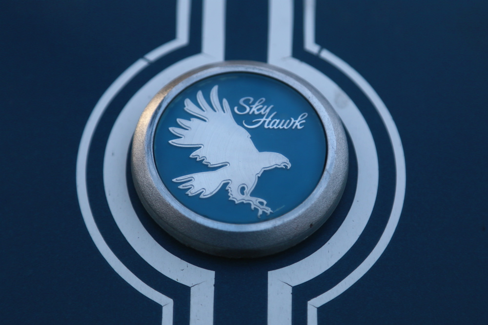 1976 Buick Skyhawk badge