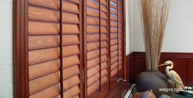 Arquitectura de casas puertas portones ventanas y for Persianas madera