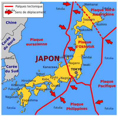 histoire.ontheway: Le Japon   Le séisme et le tsunami de mars 2011