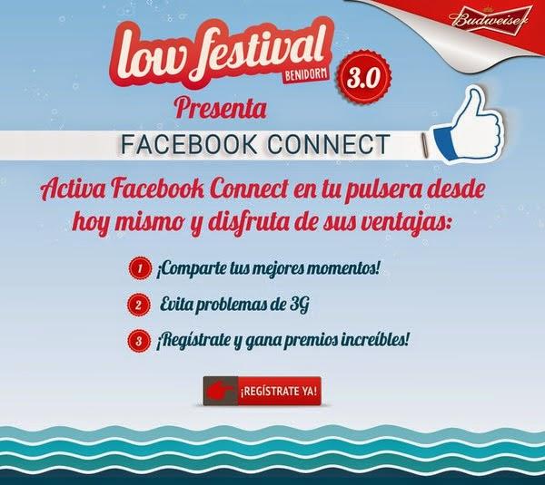 Comienza Low Festival 3.0 con Facebook Connect