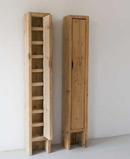 Rustic and minimalist kitchen furniture by katrin arens for Minimalist furniture design
