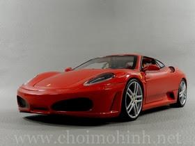 Xe mô hình tĩnh Ferrari F430 RED hiệu Hot Wheels tỉ lệ 1:18