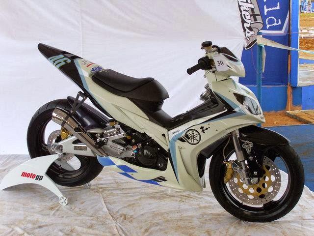 Foto Yamaha Vixion Striping Baru