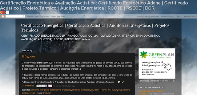 blog certificação energética e avaliação acústica