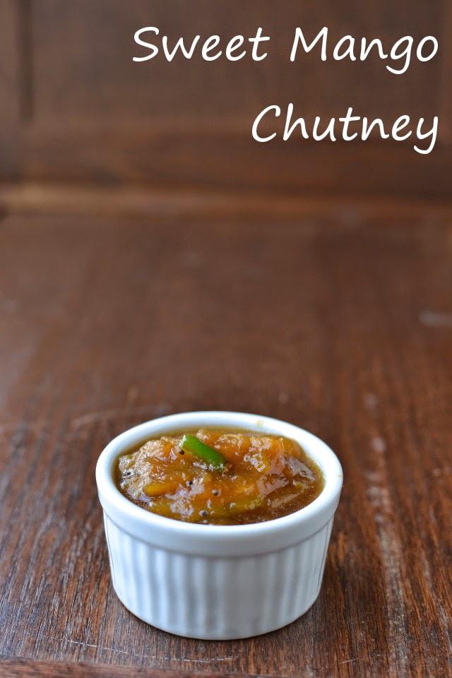 Mango Pachadi (South Indian style Sweet Mango Chutney)