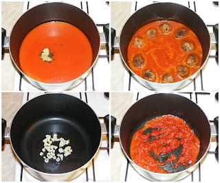 preparare chiftelute marinate, retete culinare, retete de mancare, retete chiftele cu sos, chiftele, chiftelute, cum se face chiftelele marinate,