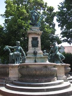 Lindavia Fountain, Lindau, Germany