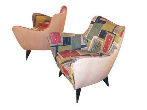 Interiors by studio rodriguez sixties kitch e chic for Arredamento anni 50 60