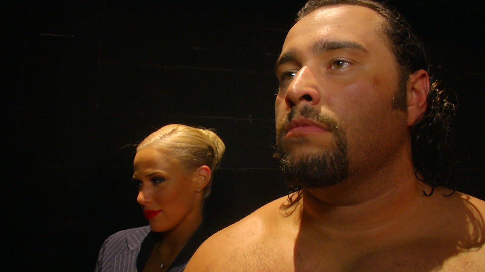 Alexander Rusev with lana