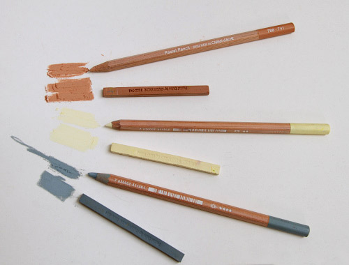 Caran d'ache hard pastel pencils