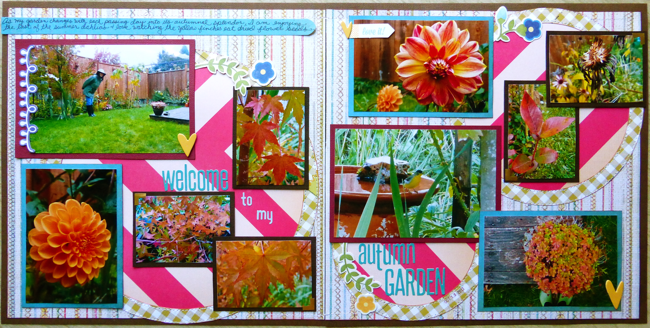 scrapbook layout,