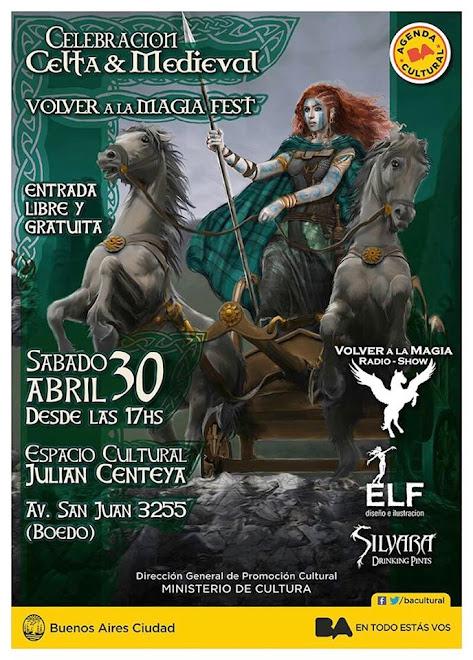 Celebracion CELTA & MEDIEVAL Sabado 30-04 Entrada libre y gratuita