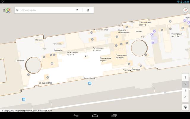 Схемы зданий на Google Картах