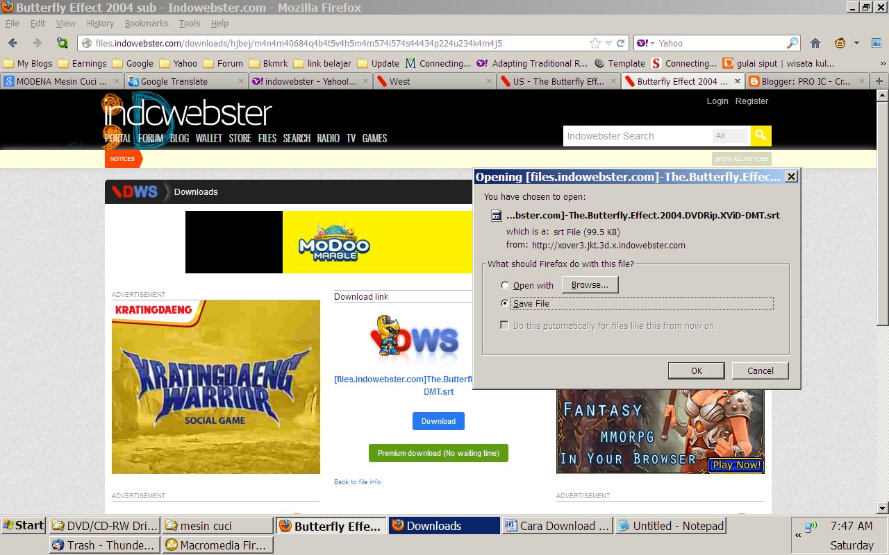 Cara Download Film Di Indowebster