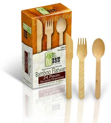 Bamboo Flatware7