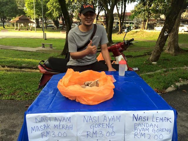 Kamil Salleh Berniaga Sebelum Masuk Kerja