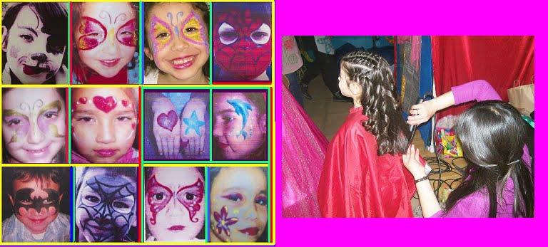 Maquillaje Artístico y Peinados para niños!
