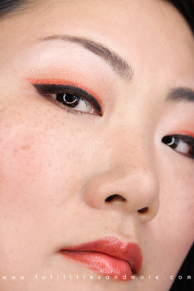 Neon Eyeliner – Sephora Color Of The Year – Tangerine Tango