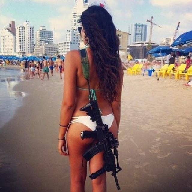 bellas mujeres militares del ejercito israelí.