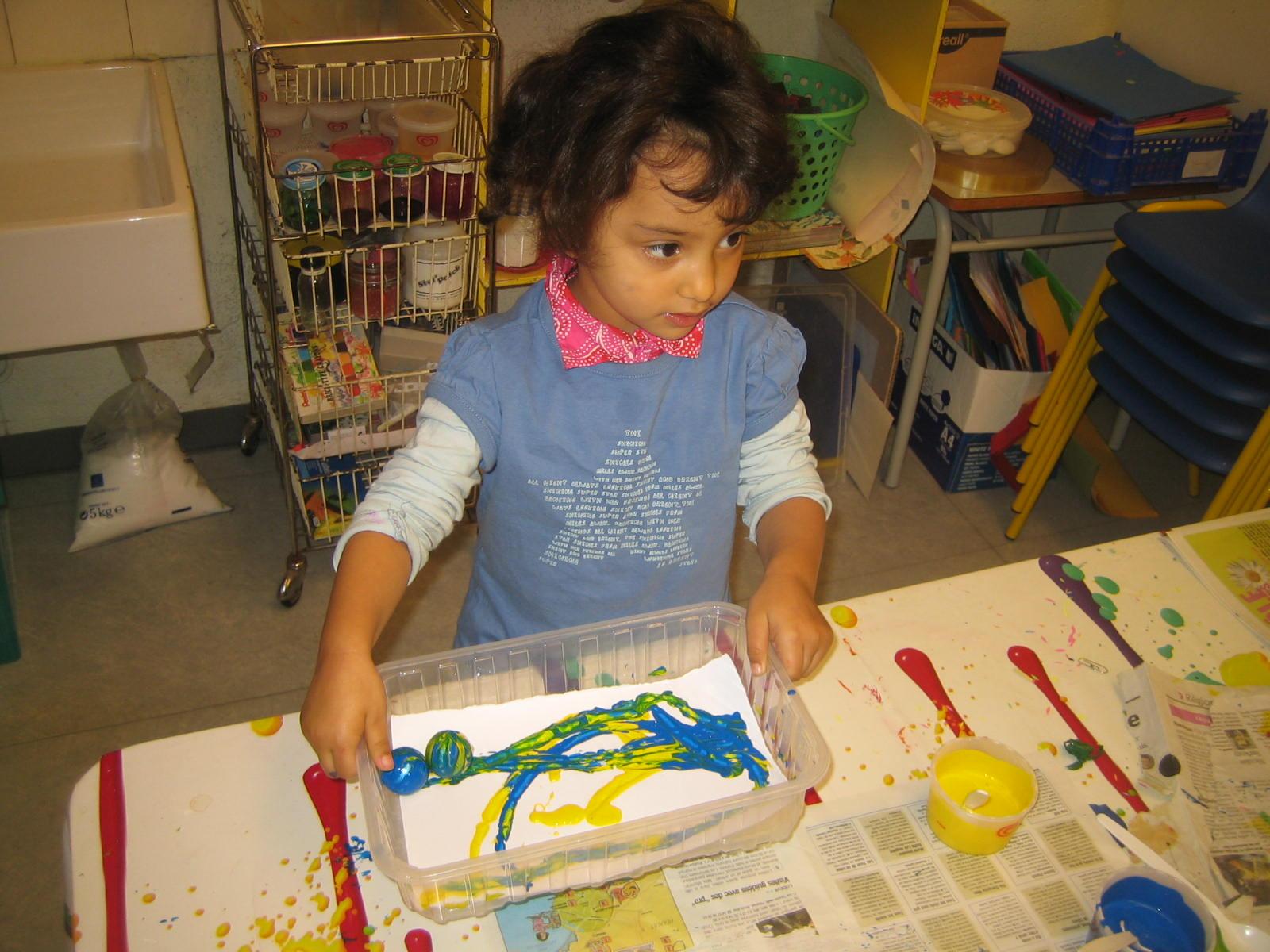Lesbolidesdepasteur m lange de couleurs primaires et - Melange de peinture ...