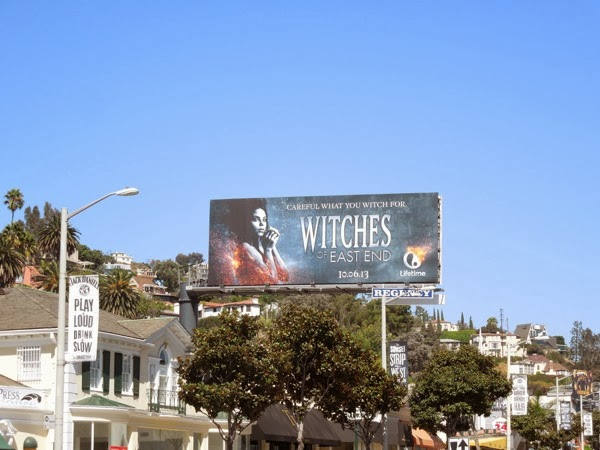 Witches of East End billboard