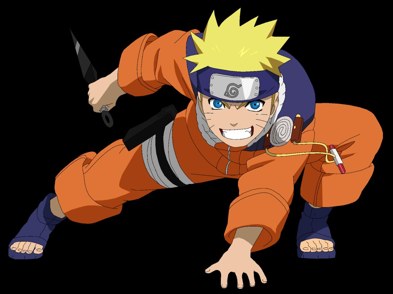 Gambar Naruto Uzumaki Genin