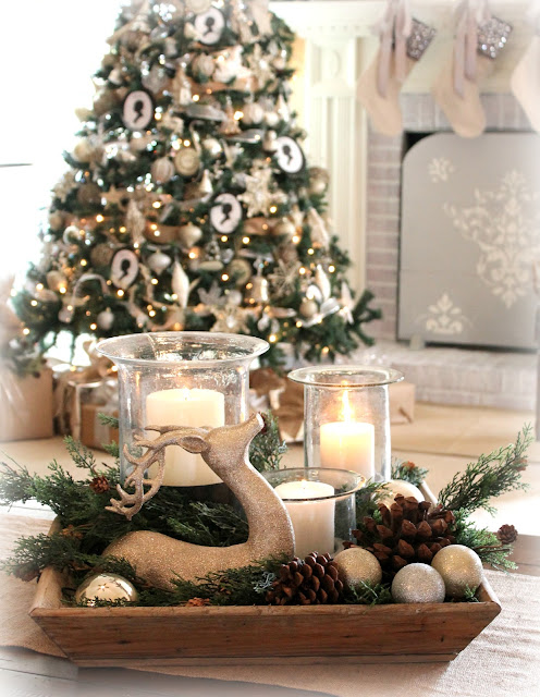 The Fancy Shack: ~A Christmas Tour & Vignettes