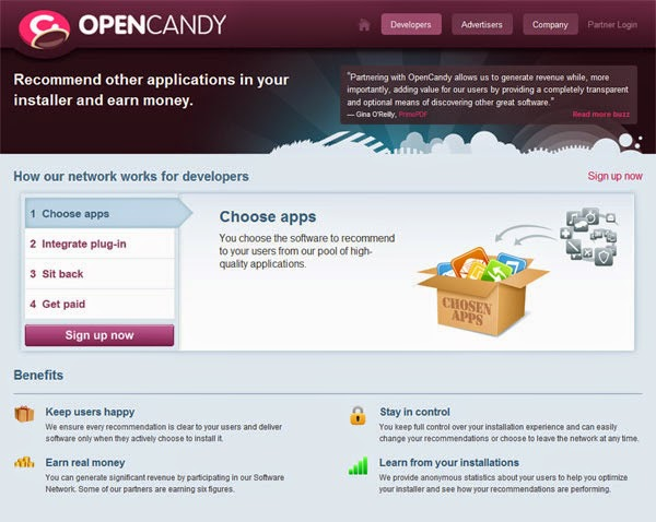 Our guide to OpenCandy