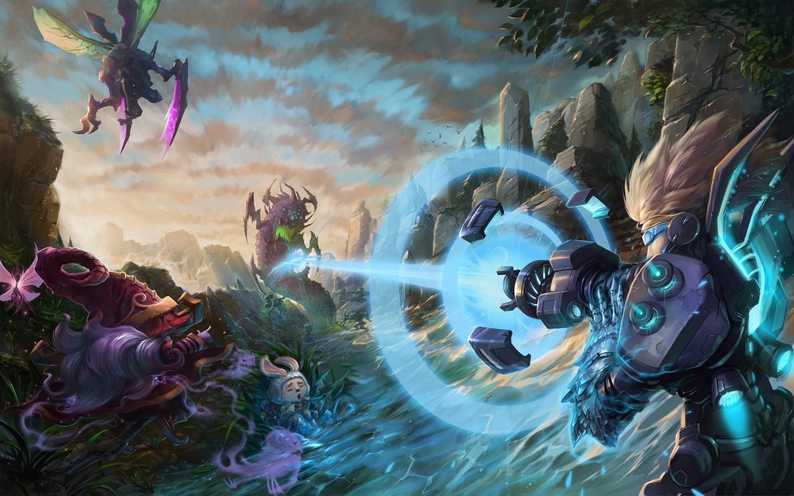 League of Legends Champion Clash b2