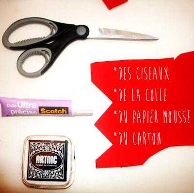 Matériel DIY tampons en papier mousse !! par la puce au grenier