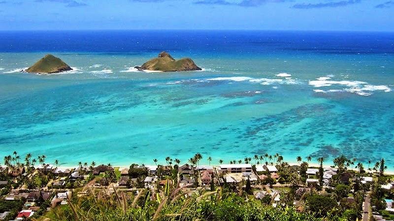 Pantai-Terindah-di-Dunia-Lanikai-Hawaii