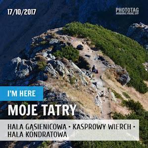 Hala Gąsienicowa - Kasprowy Wierch - Hala Kondratowa 17.10.2017