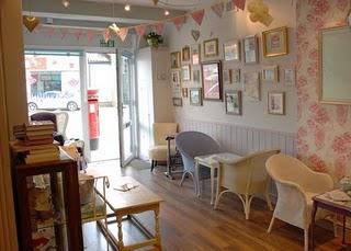 Bimbo design printers graphic designers web chesterfield for Tea room interior design ideas