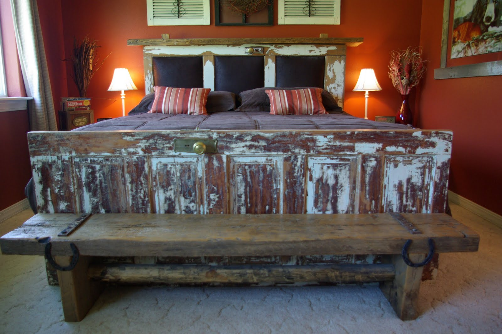 Reclaimed Rustics Foot Board Bench